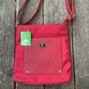 Roots 73 Crossbody Purse Red